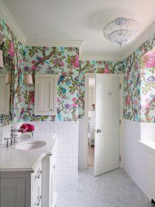 Phòng Tắm Đẹp Mắt Hơn Khi Dùng Giấy Dán Tường