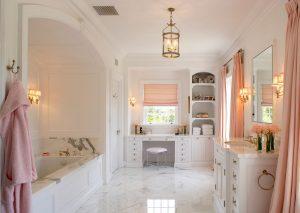 những thiết kế phòng tắm đẹp và đầy nữ tính cho ngôi nhà