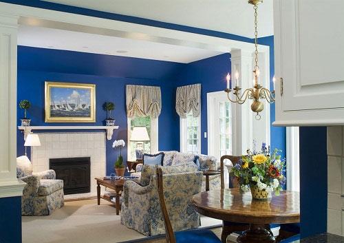 các màu sơn mang lại may mắn và loại bỏ vận xui khi xây dựng nhà