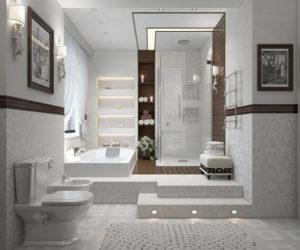 Thiết Kế Phòng Tắm Đẹp Và Thoáng Phải Chọn Những Màu Sắc Này