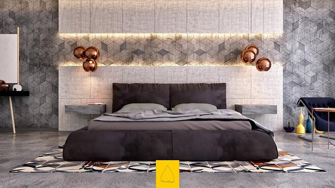 Gợi Ý Thiết Kế Phòng Ngủ Đẹp Không Cần Giường
